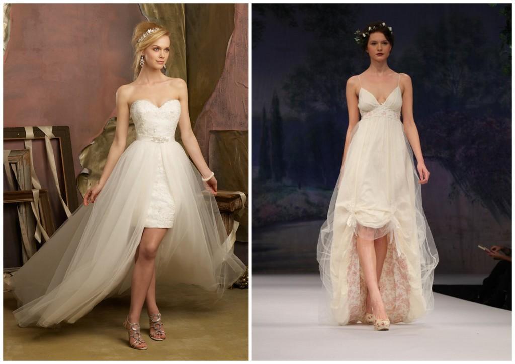 suknie ślubne z rozcięciem
