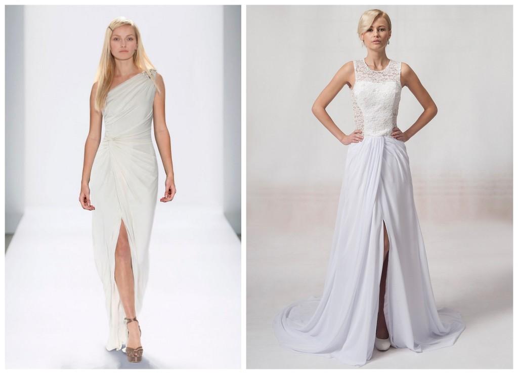 Suknia ślubna Z Rozporkiem Ndw78 Usafrica