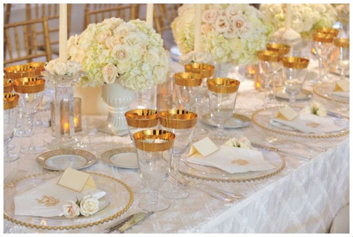 Złote Dodatki Weselne Inspiracje Na ślub I Wesele Blog
