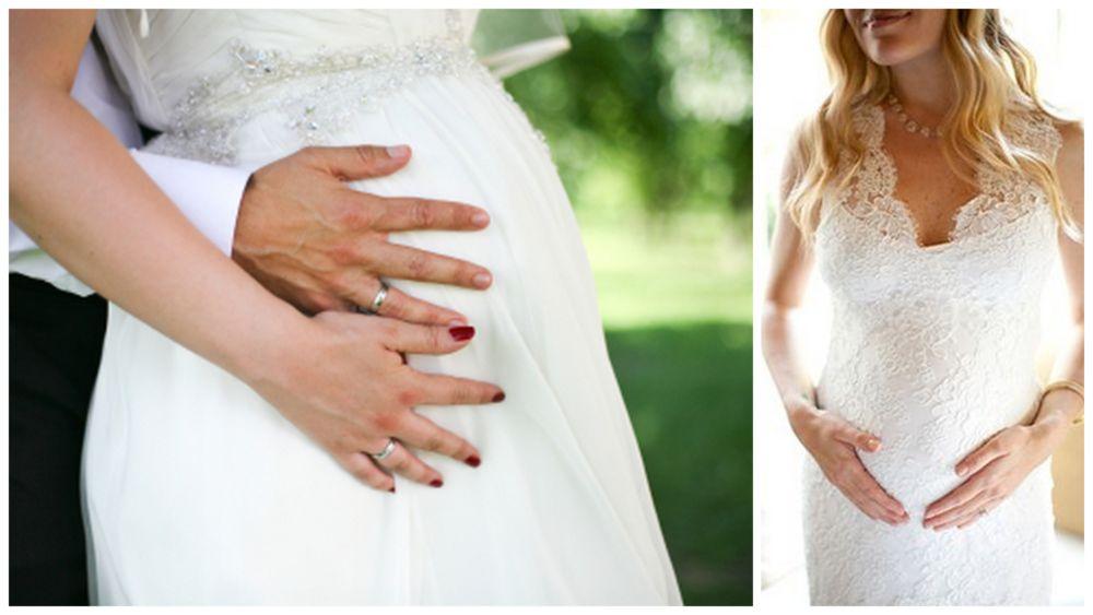 Suknia ślubna A Ciążowy Brzuszek Suknia ślubna A Ciążowy Brzuszek