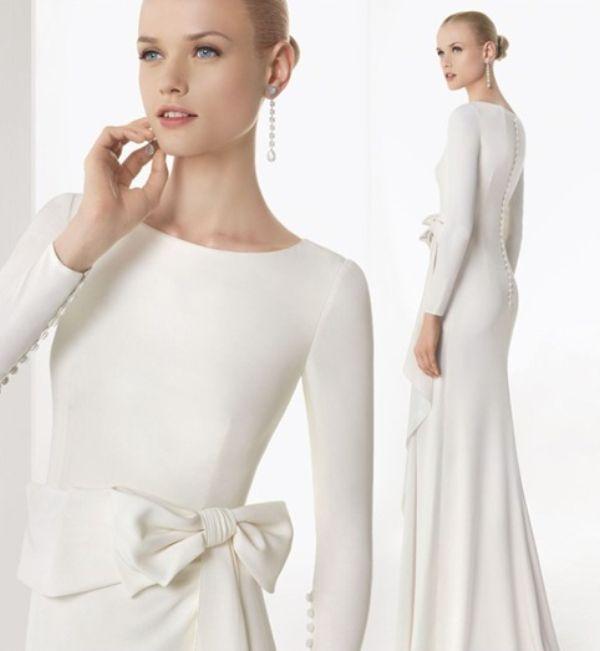 Suknia ślubna Z Długim Rękawem Idealna Na Zimowe Wesele Inspiracje