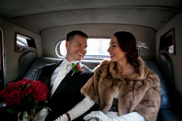Futro do ślubu