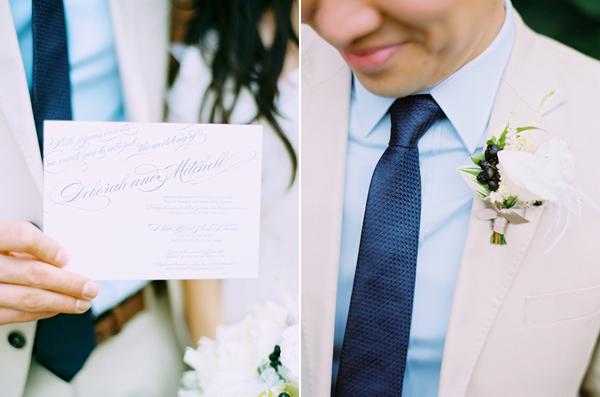 wesele w kolorze niebieskim