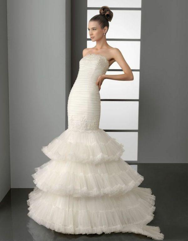 Suknia ślubna O Kształcie Syreny Suknia ślubna Syrena Inspiracje
