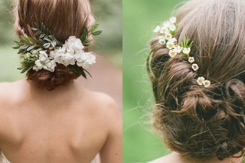 świeże Kwiaty W Upięciach ślubnych Inspiracje Na ślub I