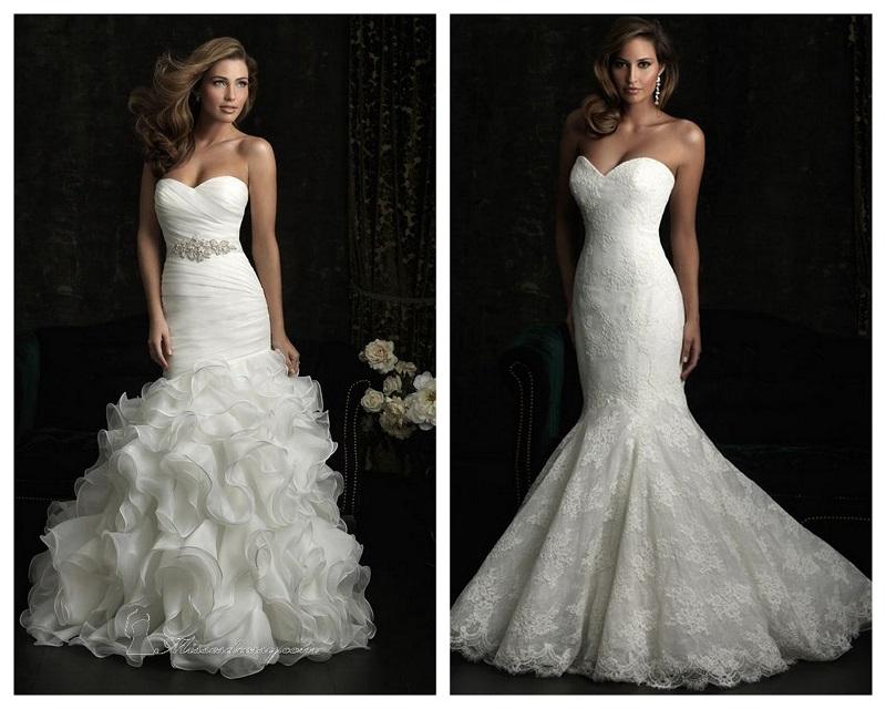 800kolaz10 5 inspiracji, jak dobrze wyglądać w sukience-syrence
