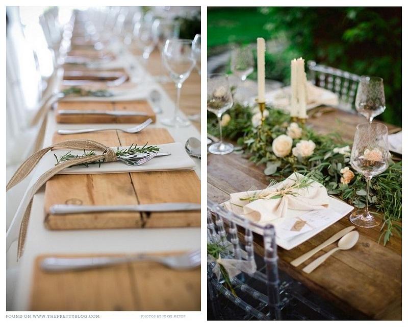 800kolaz4 Drewno – modny dodatek do dekoracji ślubnych