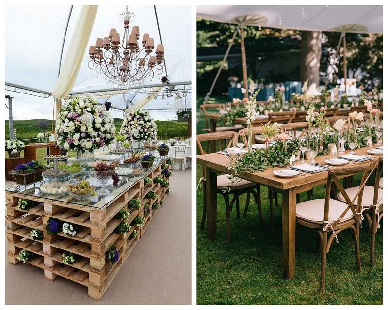 800kolaz5 Drewno – modny dodatek do dekoracji ślubnych
