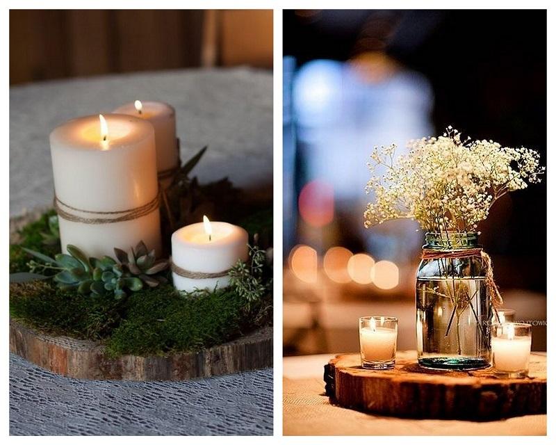 800kolaz6 Drewno – modny dodatek do dekoracji ślubnych