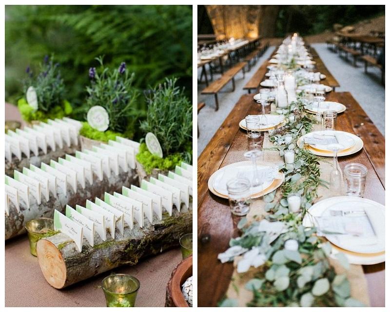 800kolaz7 Drewno – modny dodatek do dekoracji ślubnych
